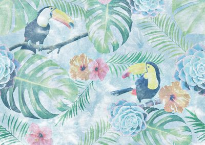 Hawaiian-vintage-seamless
