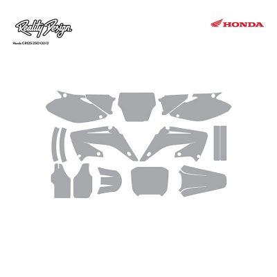 Honda CR125-250 02-12 template