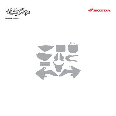 Honda CRF 50F 04-17 template