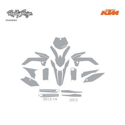 KTM SX 85 13-17 template