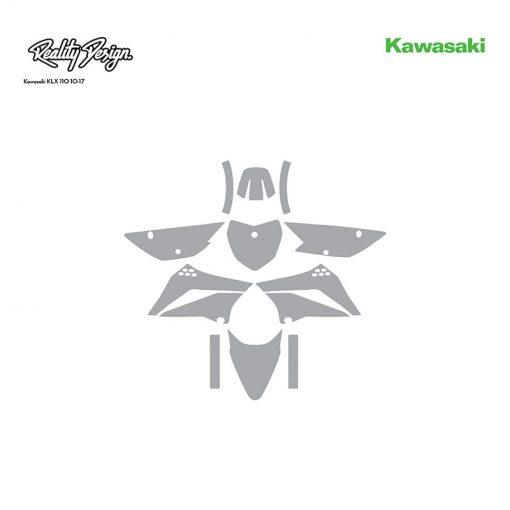 Kawasaki KLX 110 10-17 template