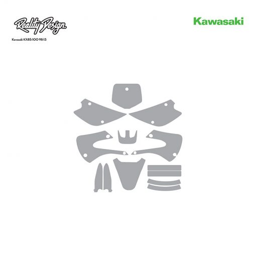 Kawasaki KX85-100 98-13 template