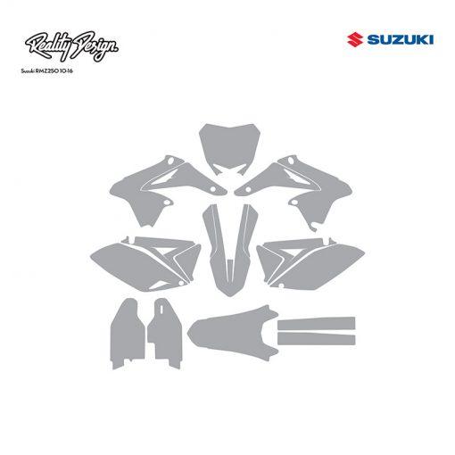 Suzuki RMZ250 10-16 template