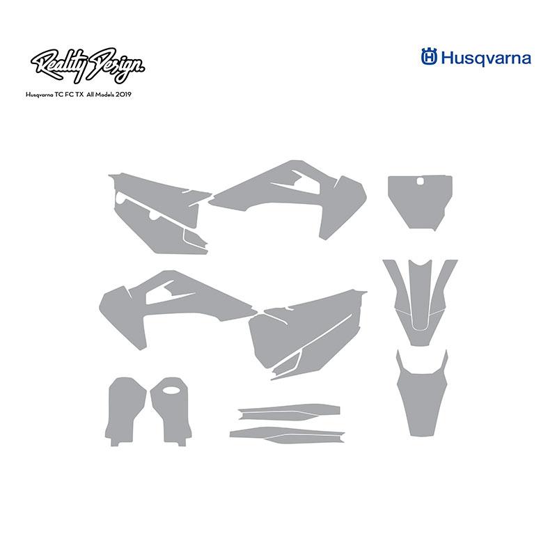 husqvarna tc fc tx motocross mx all models 2019 graphics template