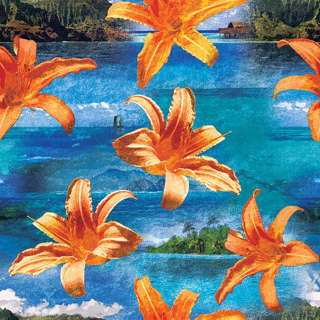 Hawaiian-floral-seamless