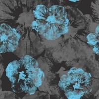 Floral-hybiscus-grunge-seamless