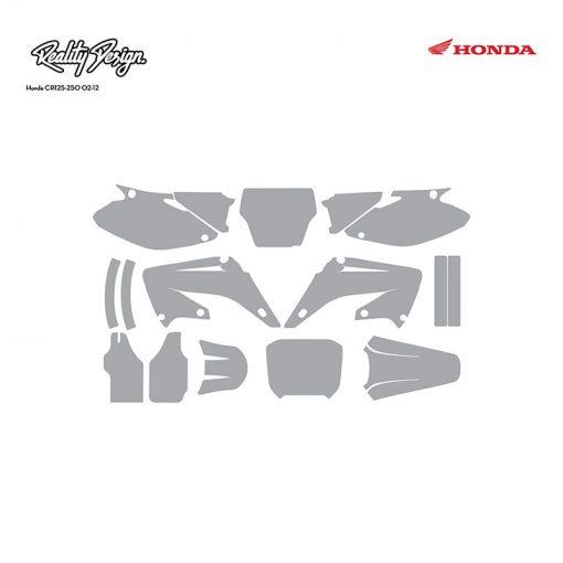 Honda CR125-250 02-12 template