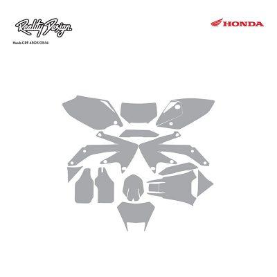 Honda CRF 450X 05-14 template