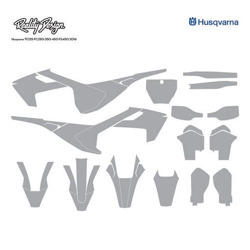 Husqvarna TC125 FC250-350-450 FS450 2016 template