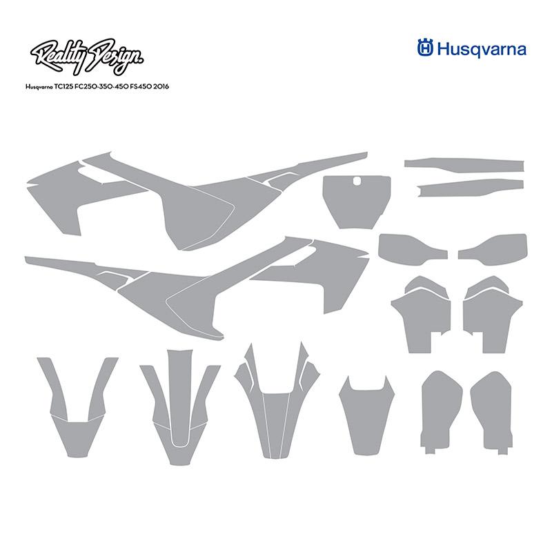Husqvarna TC125 FC250-350-450 FS450 2016
