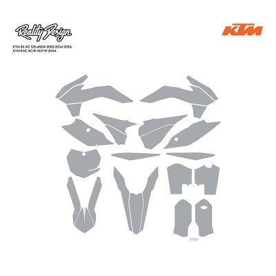 ktm sxf exc 2013 2014 2015 template