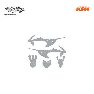 KTM SX50 2016-2017 template