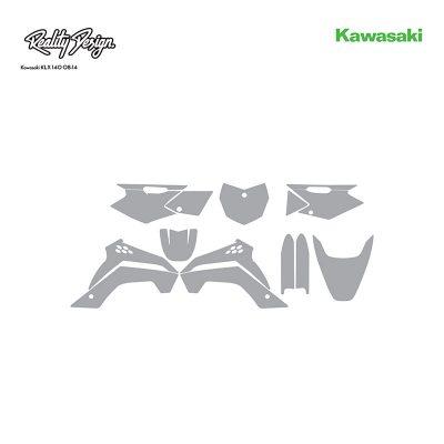 Kawasaki KLX 140 08-14 template