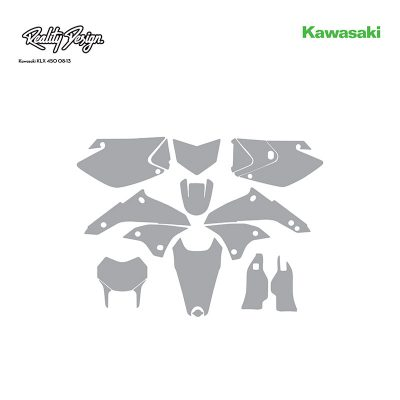 Kawasaki KLX 450 08-13 template