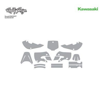 Kawasaki KX65 00-17 KLX110 00-09 template