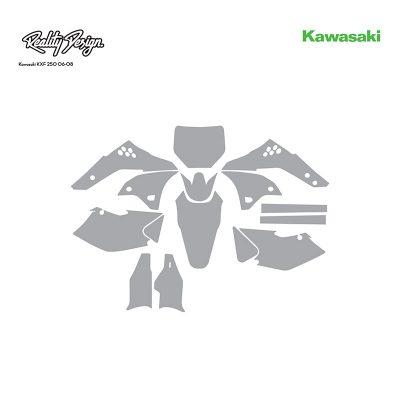 Kawasaki KXF 250 06-08 template
