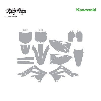 Kawasaki KXF450 12-15 template