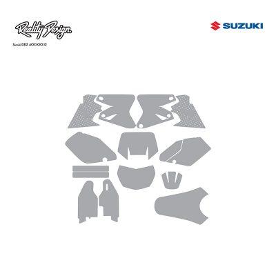 Suzuki DRZ 400 00-12 template