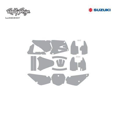 Suzuki RM80-85 00-17 template