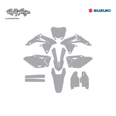 Suzuki Motocross Templates Reality Design