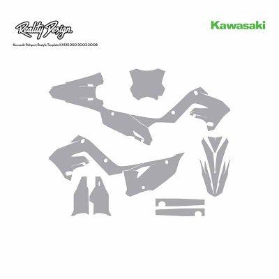 Kawasaki Polisport Restyle Kit KX125-250 2003-2008